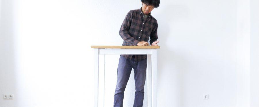 家具をコーヒーで染色する方法(映像つき)