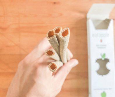 ドイツで見つけた新製品「食べられる&100%自然に還る」ストローレビュー(映像)
