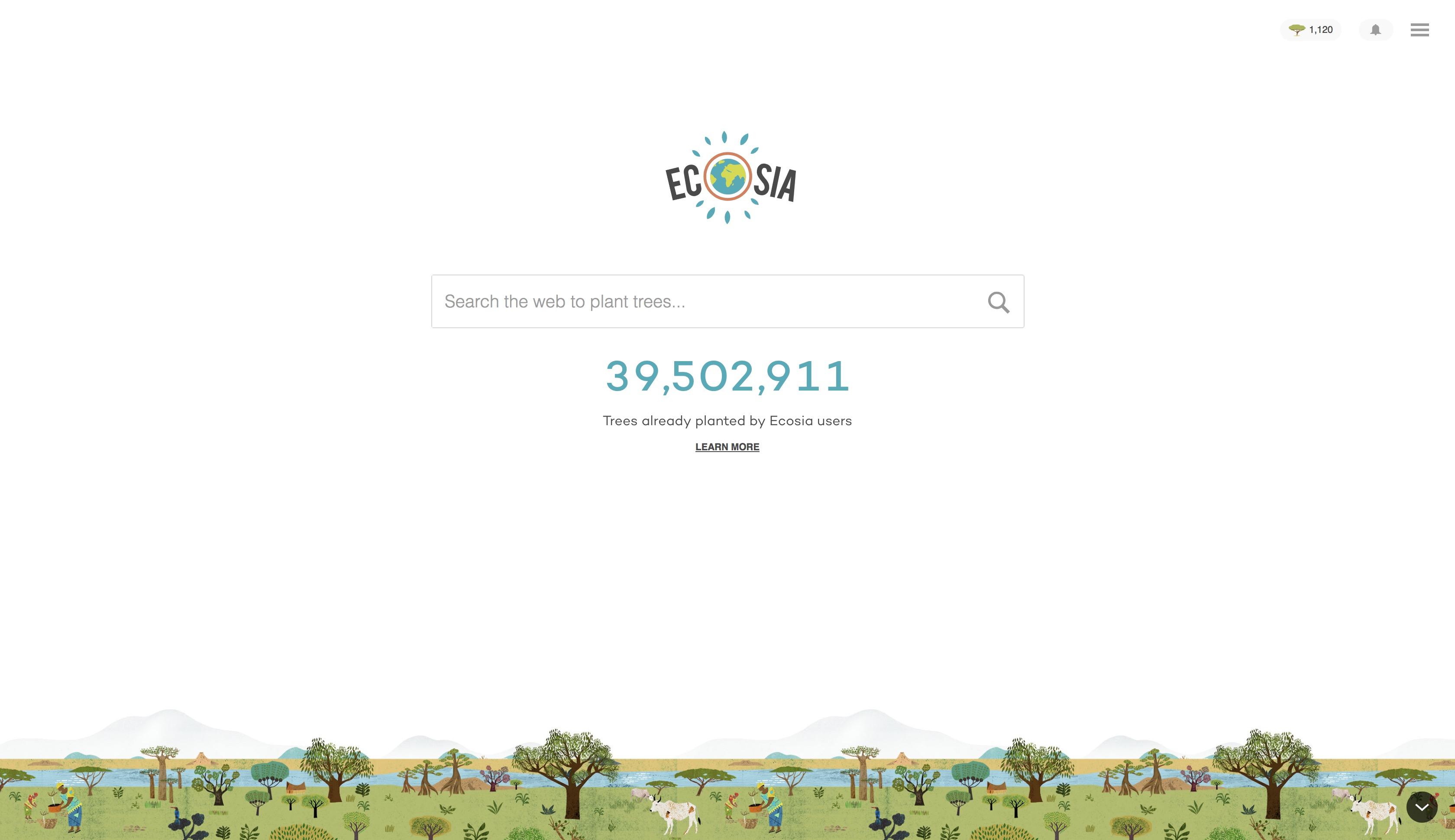 Googleに代わる「検索する度に植樹できるエコな検索エンジン」Ecosia - Akihiro Yasui